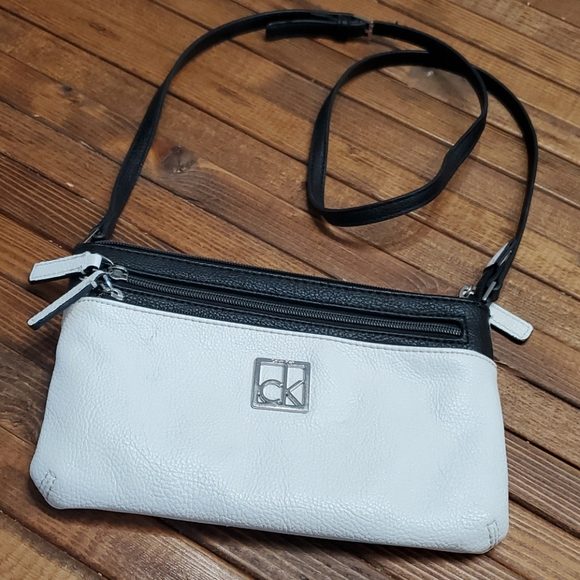 Calvin Klein Small Crossbody Bag Black & White